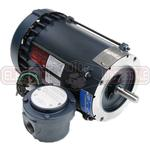 1HP LEESON 3600RPM 56C EPFC 3PH MOTOR 119422.00