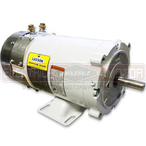 1HP LEESON 1800RPM 56C TEFC 12VDC EPOXY WASHGUARD MOTOR 109302.00