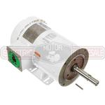 5HP LEESON 3600RPM 184JM TEFC 3PH MOTOR 132443.00