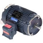 5HP LEESON 1800RPM 184TC EPFC 3PH MOTOR 825128.00