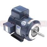 5HP LEESON 3450RPM 184JM TEFC 1PH MOTOR 132458.00