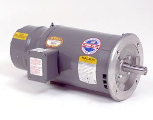 5HP BALDOR 1750RPM 184TC OPEN 3PH BRAKE MOTOR VEBM3248T