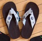 Sea Shell Flip Flops