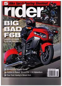 Rider May 2013