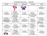 May Activities Calendar