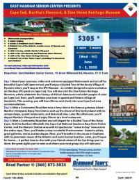 Cape Cod, Martha's Vineyard