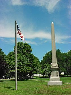 Lincoln Monument on the Plymouth Green