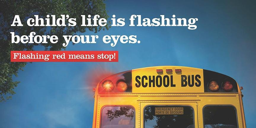 Back to School Safety: Stop for stopped school buses
