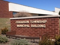 Ferguson Township Sign at Municipal Building