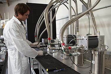 Cryopump Test Stand