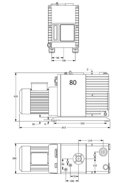 Edwards E2M80