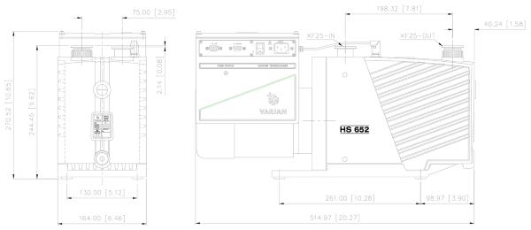Agilent Varian HS 452 / 652