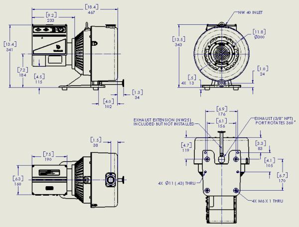 Agilent TriScroll 600 Inverter