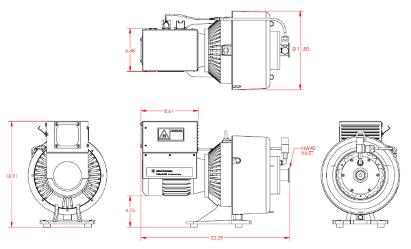 Agilent Varian TriScroll PTS800 Inverter