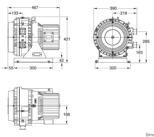 Leybold SCROLLVAC SC 60 D
