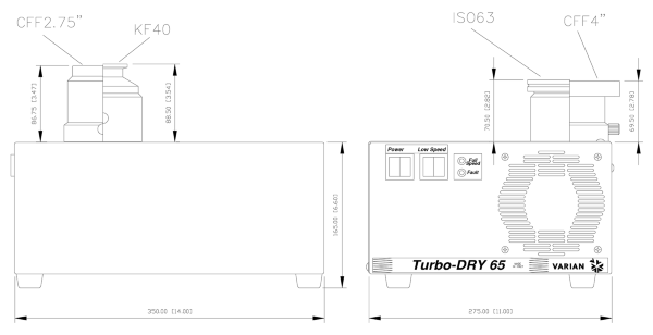 Agilent Varian Turbo-DRY 65