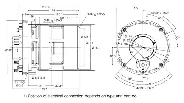 Leybold Vacuum TURBOVAC TW 220/150/15