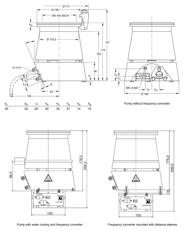 Leybold Vacuum TURBOVAC TW 250 S