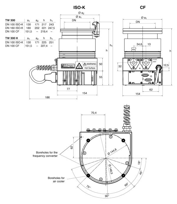 Leybold Vacuum TURBOVAC TW 300