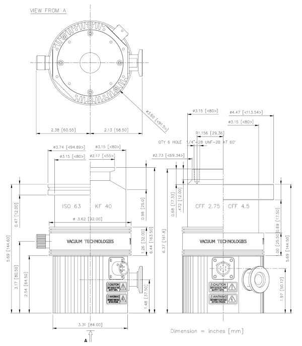 Agilent Varian Turbo-V 81-M