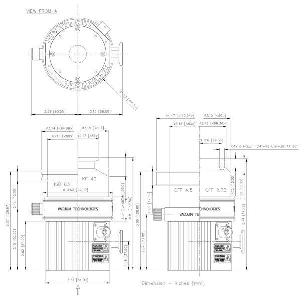 Agilent Turbo-V 81 T