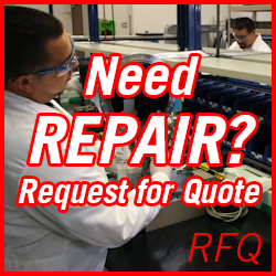 Need Vacuum Pump REPAIR? Request for Quote RFQ