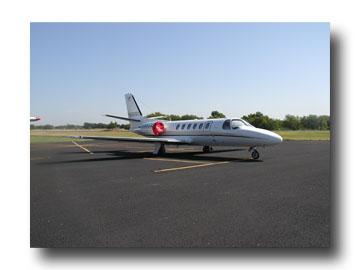 Ennis Airport Jet