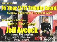15 Year 9/11 Tribute Event