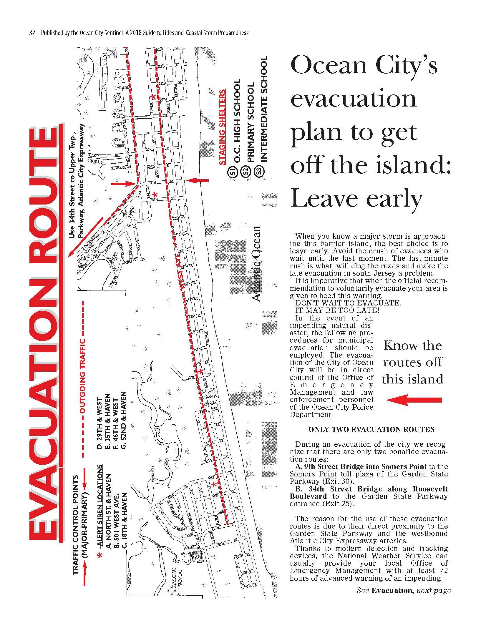 photograph relating to Printable Map of Nj referred to as Evacuation Course Map
