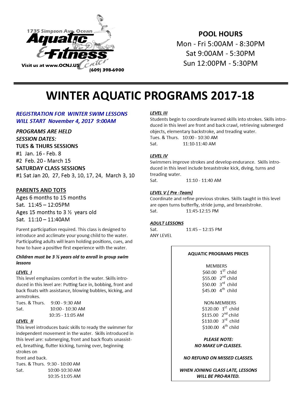 Aquatic fitness center faq pool programs xflitez Gallery