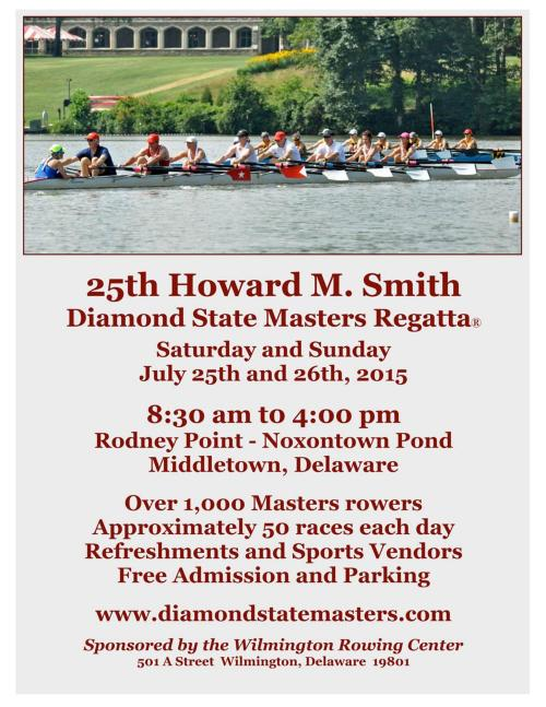 Diamond State Masters Regatta