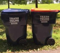 Trash and Recycling cans (Trash Tech)