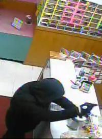 Sino robbery suspect