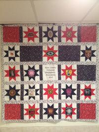 2013 Kent County Ladies Auxiliary Quilt