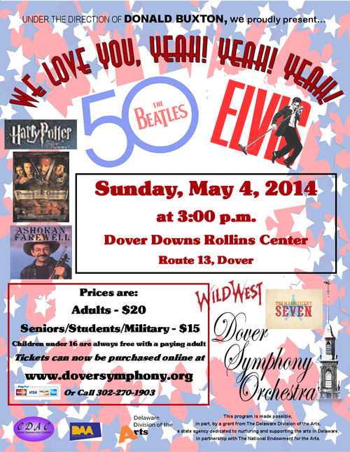 May 2014 Dover Days Pops Concert