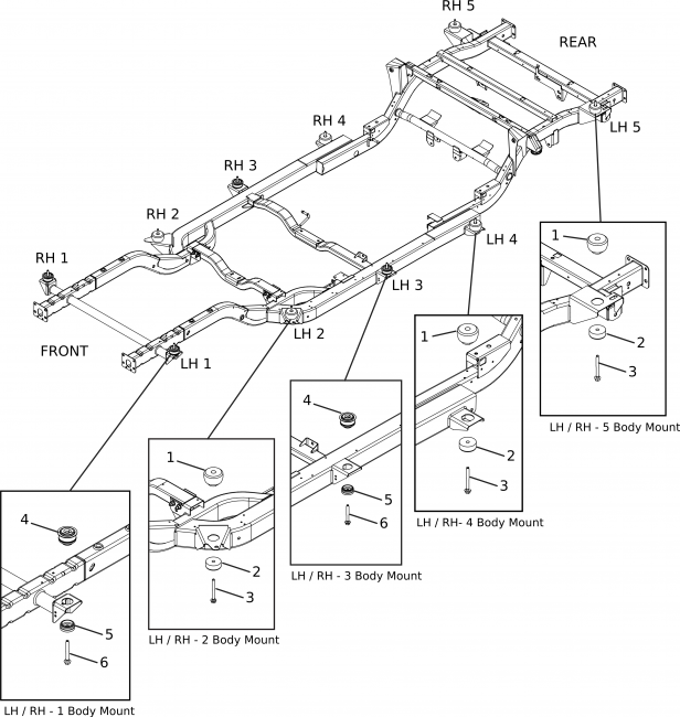 corbeil wiring diagrams mount, body, lower sp000811 #2