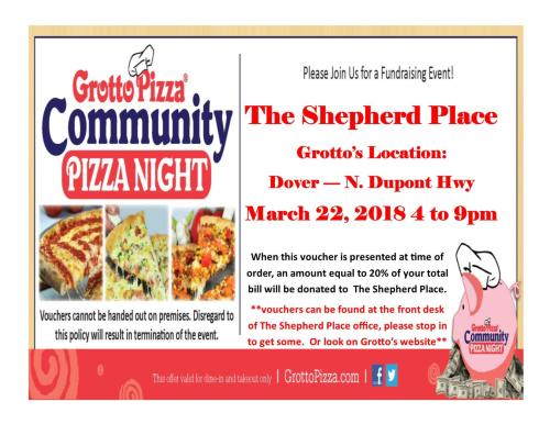Grotto's Fundraiser