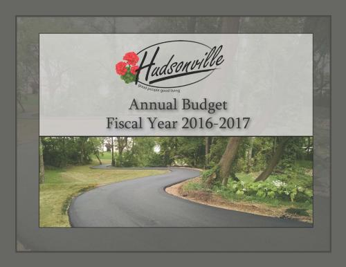 2016/2017 Budget