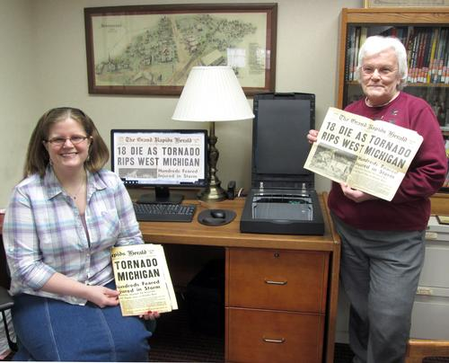 We are digitizing local Hudsonville history!
