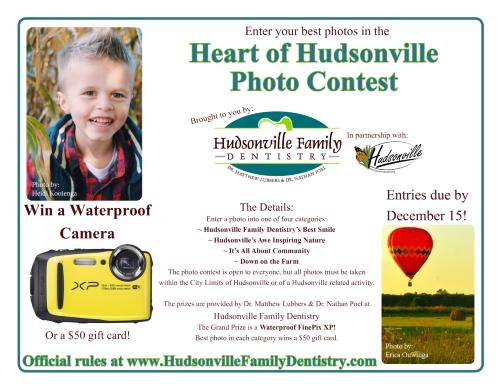 Poster for Heart of Hudsonville Contest