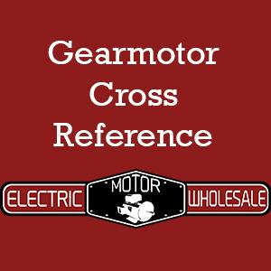 Gearmotor Cross Reference Link