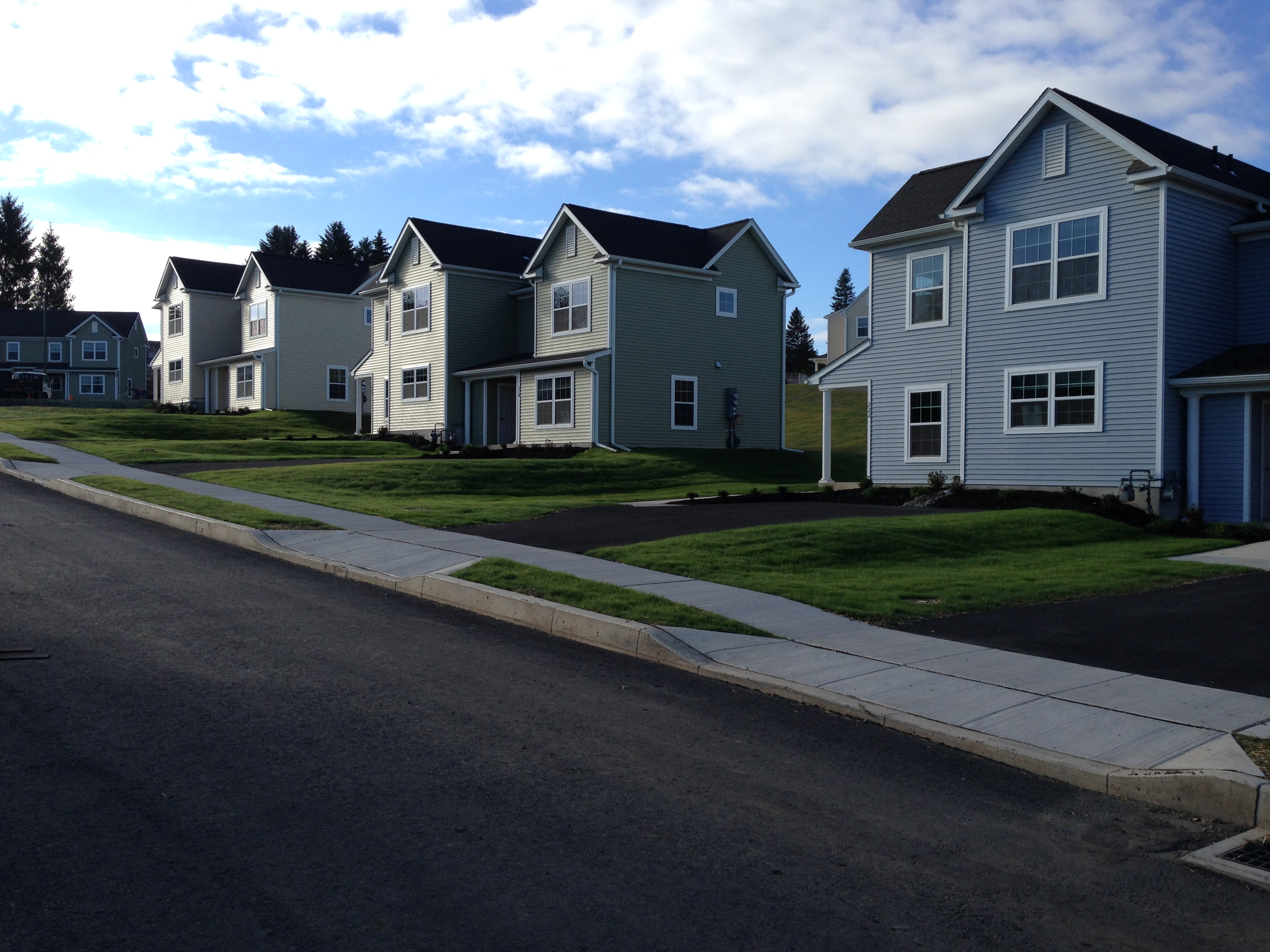 Now Open In Pa Laurel Woods Townhomes