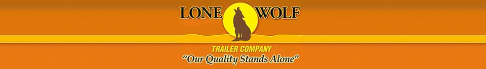 Lone Wolf Trailer Company E-commerce Store Powered by Store-Logic